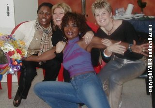 Miquel Brown, Angie Gold ,Viola, and Hazell Dean - Pride, Gran Canaria 2004